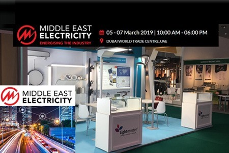 Lightmaster® at Middle East Electricity Fair 2019